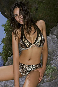 Amarea Leopard Print Bikini 118