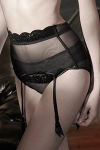 Assia Hollywood Suspender Belt