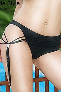 Luxxa Ibiza Bikini Asymmetric Shorts