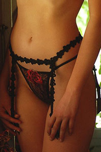 Luxxa Rose Antique G-String