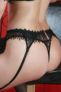 Luxxa Taureau Suspender Belt